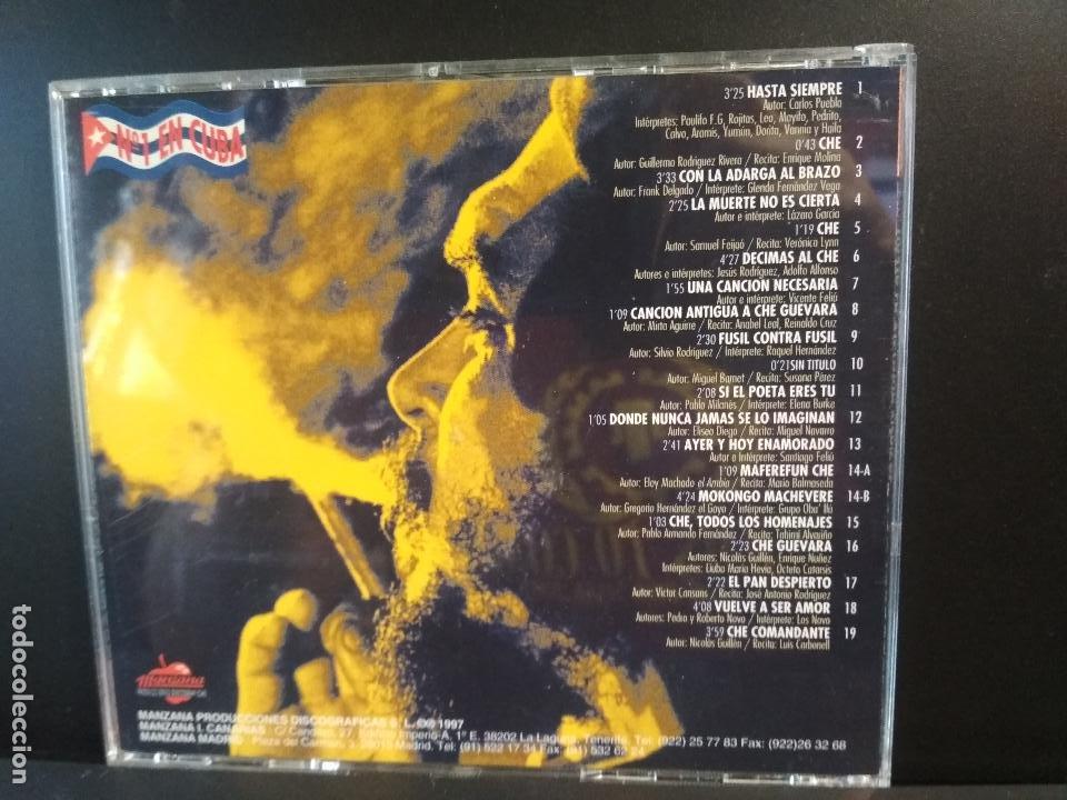 CDs de Música: CHE Hasta la victoria siempre CD ALBUM DEL AÑO 1997 CONTIENE 19 TEMAS CHE GUEVARA PEPETO - Foto 2 - 211624799