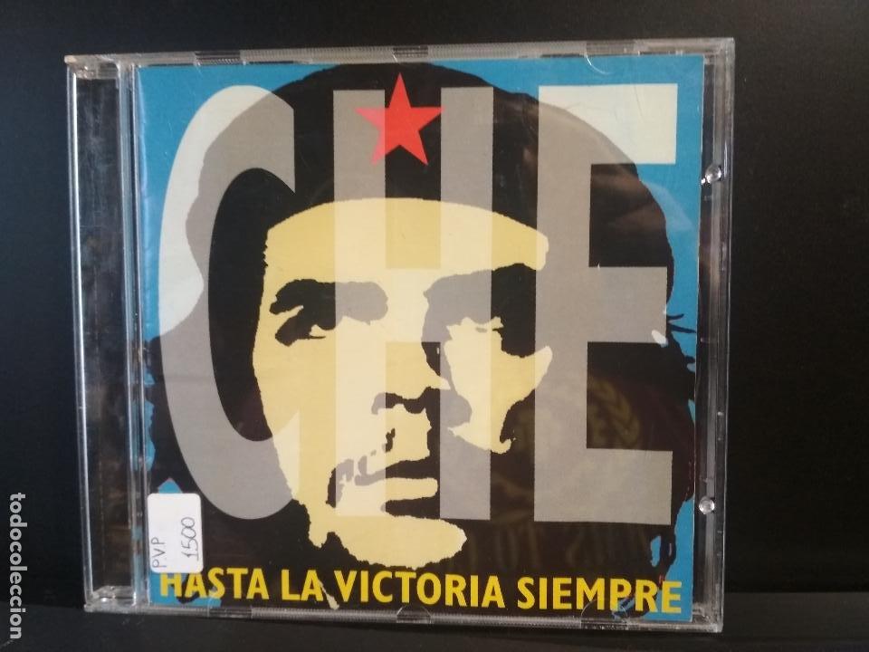 CHE HASTA LA VICTORIA SIEMPRE CD ALBUM DEL AÑO 1997 CONTIENE 19 TEMAS CHE GUEVARA PEPETO (Música - CD's Latina)