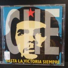 CDs de Música: CHE HASTA LA VICTORIA SIEMPRE CD ALBUM DEL AÑO 1997 CONTIENE 19 TEMAS CHE GUEVARA PEPETO. Lote 211624799