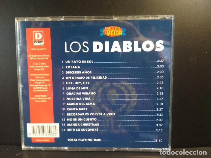CDs de Música: Que tiempos aquellos, Los Diablos, Los Módulos, Los Mustang, Box triple, TRIPLE CD 1999 PEPETO - Foto 6 - 211627375