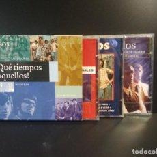 CDs de Música: QUE TIEMPOS AQUELLOS, LOS DIABLOS, LOS MÓDULOS, LOS MUSTANG, BOX TRIPLE, TRIPLE CD 1999 PEPETO. Lote 211627375