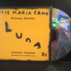 CDs de Música: JOSE MARIA CANO & AINHOA ARTETA AHORRO OPERA LUNA MECANO CD SINGLE 1997 INOCENTE MUY RARO PEPETO. Lote 211627616