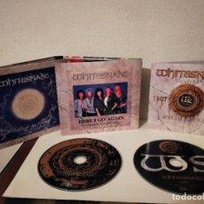 CDs de Música: PACK CD DOBLE ORIGINAL - WHITESNAKE 1987 2007 - HEAVY METAL - HARD ROCK - 20TH ANNIVERSARY. Lote 211628435