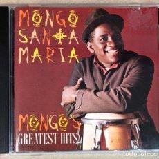 "CDs de Música: MONGO SANTAMARIA ""MONGO'S GREATEST HITS"" - CD -. Lote 211628779"