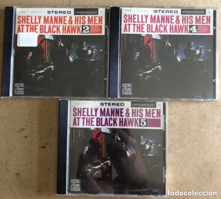 SHELLY MANNE & HIS MEN AT THE BLACK HAWK VOL. 2, 4 Y 5 (ORIGINAL JAZZ CLASSIC 1991). - 3 CDS- (Música - CD's Jazz, Blues, Soul y Gospel)
