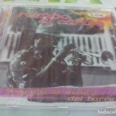 CDs de Música: CD. RUMBO AL CARIBE COLOMBIANO - BOOGALOO - LA MUSICA DE BARRIO. Lote 211655204