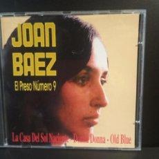 CDs de Música: JOAN BAEZ - EL PRESO NÚMERO 9 - CD 1994. Lote 211662023