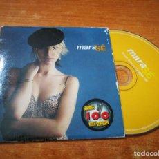 CDs de Música: MARA & PAOLO VALLESI SE CD SINGLE PROMOCIONAL EDICION CADENA 100 EN VIVO VERSION ACUSTICA. Lote 211662254