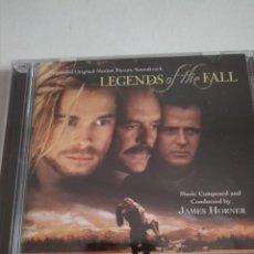 CDs de Música: JAMES HORNER-LEYENDAS DE PASIÓN 2 CDS.. Lote 211670089
