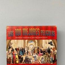 CDs de Música: LAS 100 MEJORES PELÍCULAS. BANDAS SONORAS INSTRUMENTALES - 100 AÑOS DE CINE. Lote 211671953