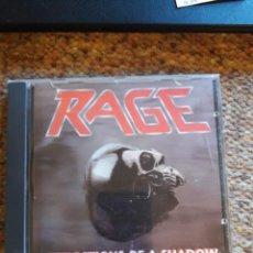 CDs de Música: RAGE , REFLECTIONS OF A SHADOW , CD 1990 BUEN ESTADO ENVIO ECONOMICO. Lote 211672008