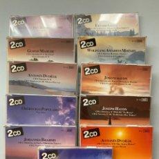 CDs de Música: 11 DISCOS MÚSICA CLÁSICA COMPOSITORES. Lote 211672066