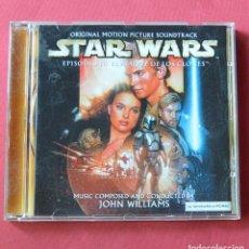 CDs de Música: STAR WARS - EPISODIO II - EL ATAQUE DE LOS CLONES - B. S. O. - JOHN WILLIAMS - CD DE LA BANDA SONORA. Lote 211693386
