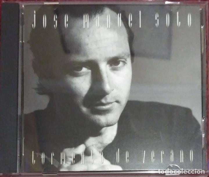 JOSE MANUEL SOTO (TORMENTA DE VERANO) CD 1993 (Música - CD's Flamenco, Canción española y Cuplé)