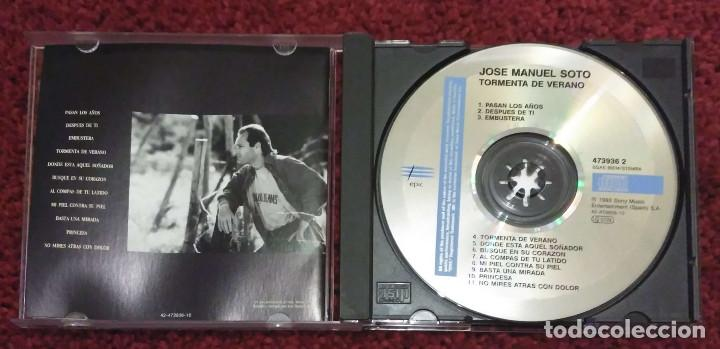 CDs de Música: JOSE MANUEL SOTO (TORMENTA DE VERANO) CD 1993 - Foto 3 - 211700875