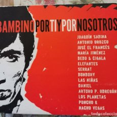 CDs de Música: CD TRIBUTO A BAMBINO ( JOAQUIN SABINA, ANTONIO OROZCO, BUNBURY, SERRAT, LOS PLANETAS, NACHO VEGAS ... Lote 211710449