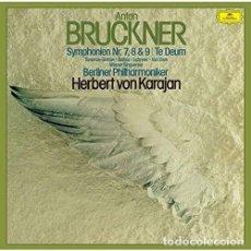 CDs de Música: BRUCKNER / KARAJAN HERBERT VON - BRUCKNER SYMPHONIES 7-9 (JPN) (CD NUEVO). Lote 211717825
