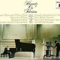 CDs de Música: HOROWITZ VLADIMIR - HOROWITZ ON TELEVISION: ANNIVE (CD NUEVO). Lote 211717931