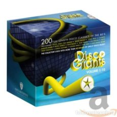 CDs de Música: 10 DISCO GIANTS 1 / VARIOUS - 10 DISCO GIANTS 1 / VARIOUS (CD NUEVO). Lote 211717956