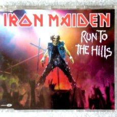 CDs de Música: IRON MAIDEN.RUN TO THE HILLS...CD MAXI 5 TEMAS. Lote 211720964