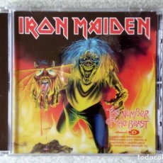 CDs de Música: IRON MAIDEN.THE NUMBER OF THE BEAST..CD MAXI 5 TEMAS. Lote 211721995