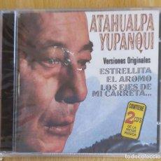 CDs de Música: ATAHUALPA YUPANQUI (VERSIONES ORIGINALES) 2 CD'S 1999 * PRECINTADO. Lote 211722258