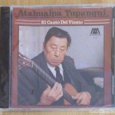 CDs de Música: ATAHUALPA YUPANQUI (EL CANTO DEL VIENTO) CD 1990 * PRECINTADO. Lote 211722423