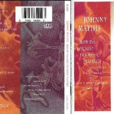 CDs de Música: JOHNNY MATHIS - HOW DO YOU KEEP THE MUSIC PLAYING?. Lote 211732560