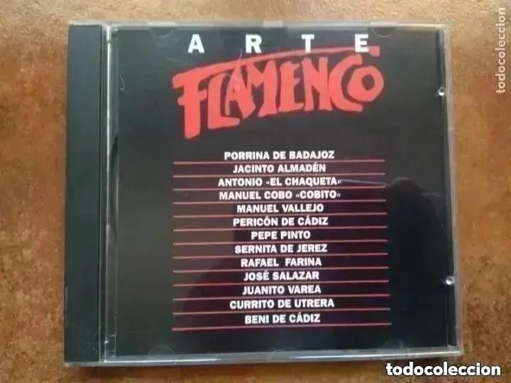 ARTE FLAMENCO ORBIS. ANTOLOGIA VI (CD) (Música - CD's Flamenco, Canción española y Cuplé)