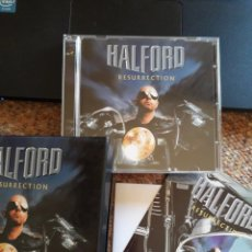 CDs de Música: HALFORD , RESURRECTION , CD BOX + POSTER + POSTAL , ESTADO IMPECABLE ENVIO ECONOMICO. Lote 211756538