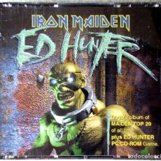 CDs de Música: IRON MAIDEN.ED HUNTER..2 CD´S + JUEGO. Lote 211773880