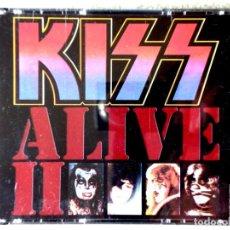 CDs de Música: KISS.ALIVE II..DOBLE CD 1ª EDICION. Lote 211774153