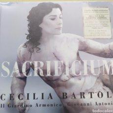 CDs de Música: CECILIA BARTOLI / SACRIFICIUM EDICION DELUXE 2 CD LIMITED EDITION / SIN DESPRECINTAR / CD ORIGINAL. Lote 211778243