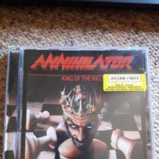 CDs de Música: ANNIHILATOR , KING OF THE KILL , CD 2002 ESTADO IMPECABLE ENVIO ECONOMICO. Lote 211778335