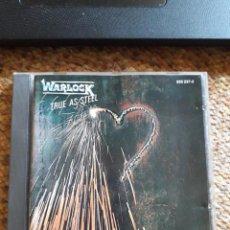 CDs de Música: WARLOCK , TRUE AS STELL , CD 1986 , LEVES SEÑALES DE USO , ENVIO ECONOMICO. Lote 211779922
