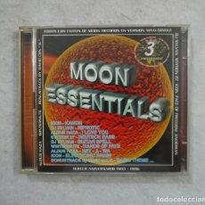 CDs de Música: MOON ESSENTIALS VOL. 1. TERCER ANIVERSARIO 1993-1996 - 2 CDS 1996 - RUTA BAKALAO - MAKINA - TRANCE. Lote 211795991