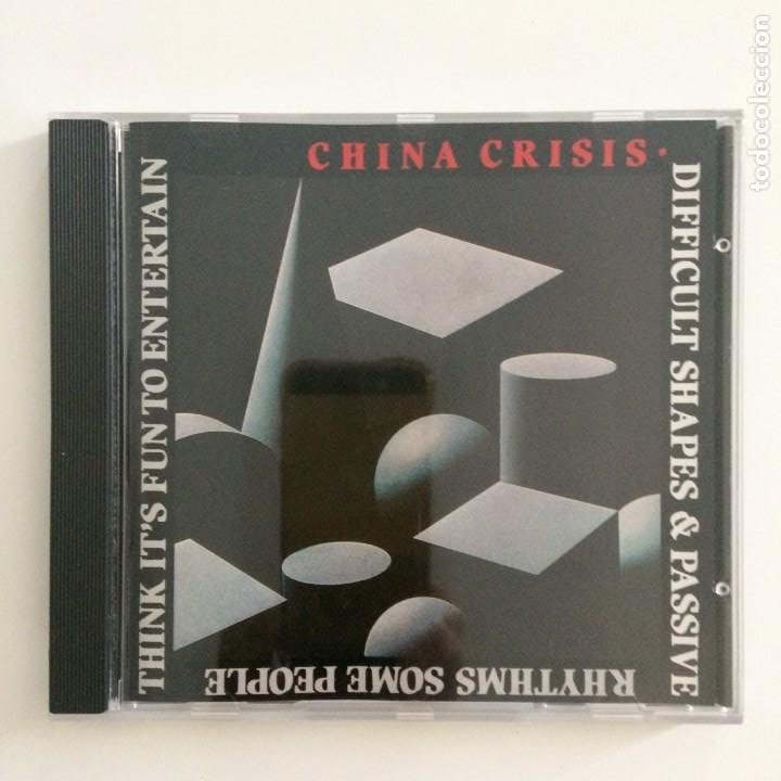 CHINA CRISIS – DIFFICULT SHAPES & PASSIVE RHYTHMS, SOME PEOPLE THINK IT'S FUN TO ENTERTAIN UK 1987 (Música - CD's New age)