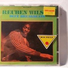 CDs de Música: CD/ REUBEN WILSON/ BLUE BREAKBEATS /( REF. E). Lote 211815086