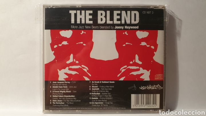 CDs de Música: CD/ THE BLEND/ MORE JAZZ NEW BEATS BLENDY BY JONNY HAYWOOD/( REF. E) - Foto 2 - 211818792