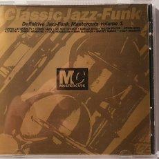 CDs de Música: CD/ CLASSIC JAZZ-FUNK / DEFINITIVE JAZZ-FUNK MASTERCTS VOLUMEN 1/( REF. E). Lote 211819875