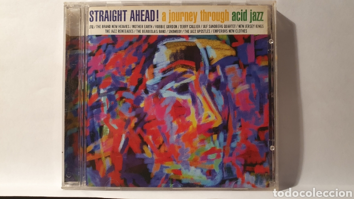 CD/ STRSIGHT AHEAD! A JOURNEY THROUGH ACID JAZZ /( REF. E) (Música - CD's Jazz, Blues, Soul y Gospel)