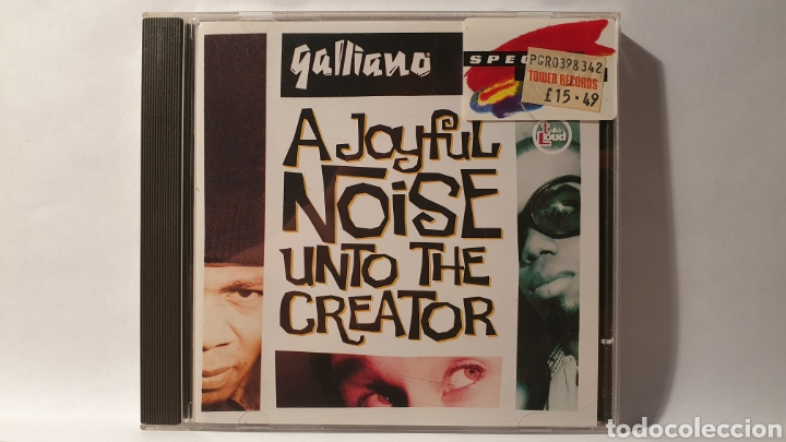 CD/ GALLIANO/ A JOYFUL NOISE UNTO THE CREATOR/ ACID JAZZ / ( REF. E) (Música - CD's Jazz, Blues, Soul y Gospel)