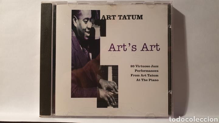 CD/ ART TATUM/ ARTS ART /( REF. E) (Música - CD's Jazz, Blues, Soul y Gospel)