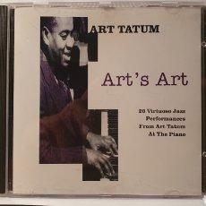 CDs de Música: CD/ ART TATUM/ ART'S ART /( REF. E). Lote 211822185