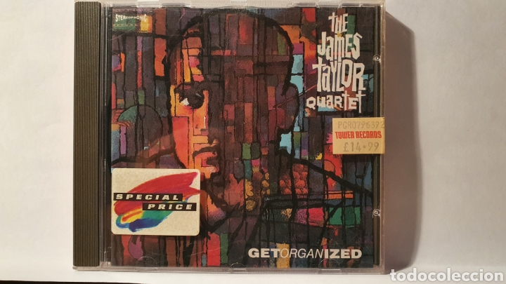 CD/ THE JAMES TAYLOR QUARTET/( REF. E) (Música - CD's Jazz, Blues, Soul y Gospel)