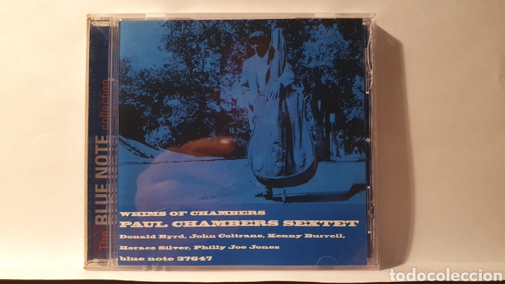 CD/ PAUL CHAMBERS/ WHIMS OF CHSMBERS/ THE BUE NOTE COLLECTION/( REF. E) (Música - CD's Jazz, Blues, Soul y Gospel)
