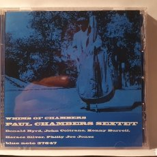 CDs de Música: CD/ PAUL CHAMBERS/ WHIMS OF CHSMBERS/ THE BUE NOTE COLLECTION/( REF. E). Lote 211823600