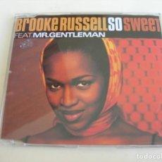 CDs de Música: BROOKE RUSSEL SO SWEET 4 VERSIONES CD SINGLE. Lote 211824077