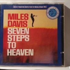 CDs de Música: CD/ MILES DAVIS/ SEVEN STEPS TO HEAVEN /( REF. E). Lote 211824603