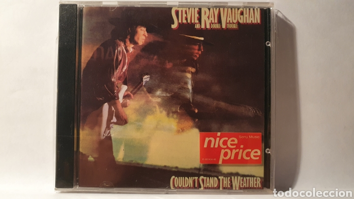 "CD/ STEVIE RAY VAUGHAN/ COULDN""T STAND THE WEATHER/ /( REF. E) (Música - CD's Jazz, Blues, Soul y Gospel)"
